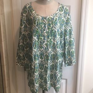 Kim Rogers Woman's Top Size 3X